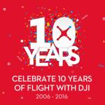 dji 10 year anniversary drone sale