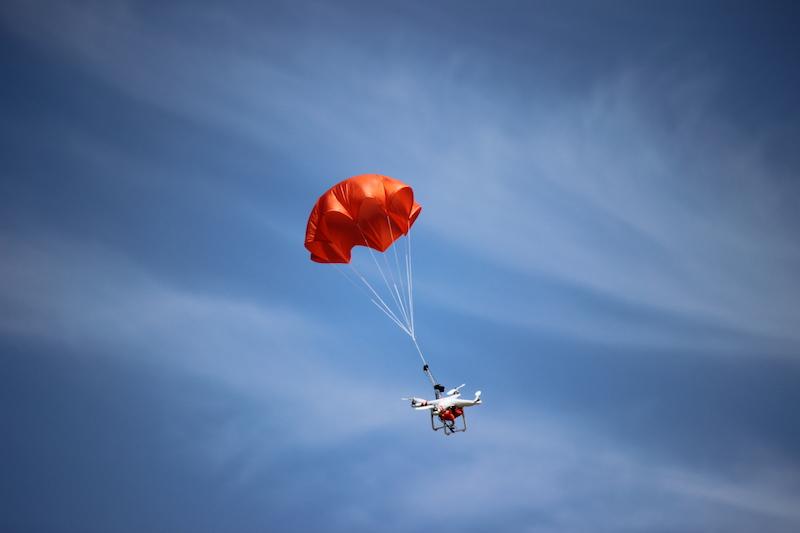 DJI Phantom Mars Drone Parachute System