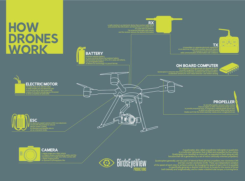 Infographic] How Do Drones Work? - UAV Coach