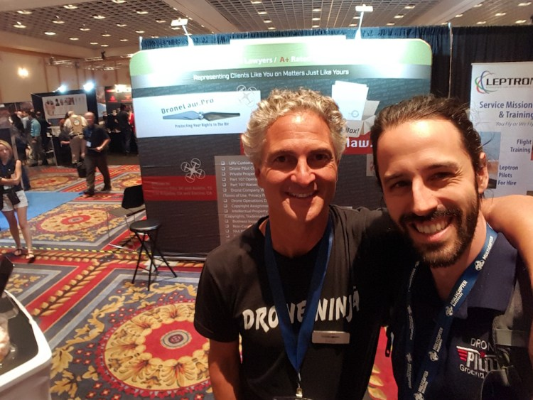 Hanging out with Enrico Schaefer of Drone Law Pro