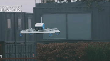 Amazon First Drone Delivery