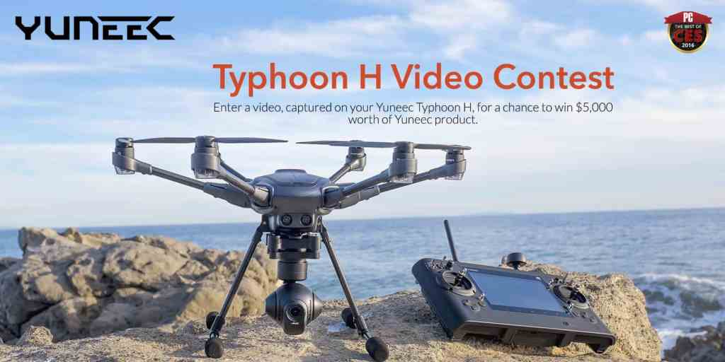 yuneec typhoon video contest