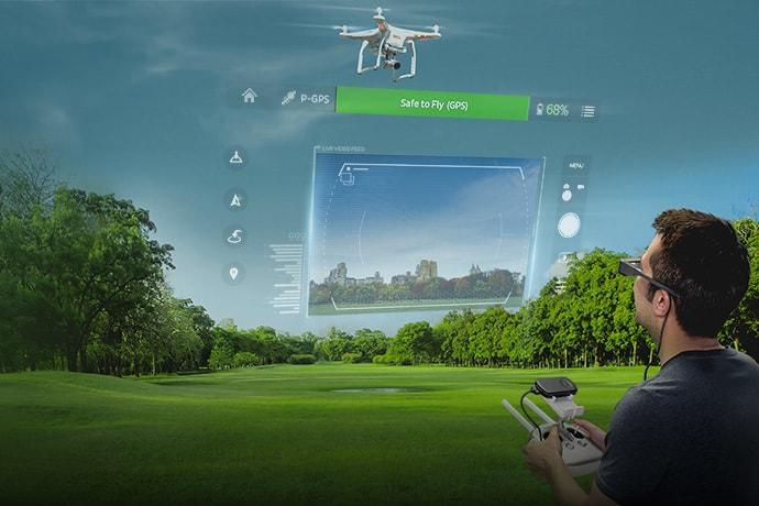 moverio bt-300 drone smart glasses fpv review