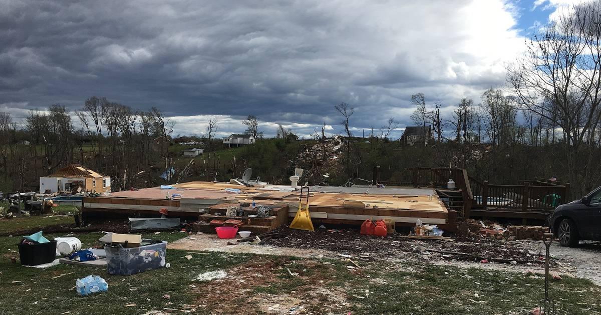 Amherst VA Tornado 2018