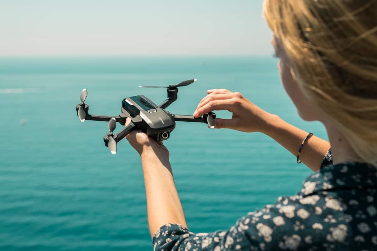 Voice Control Drone Mantis Q