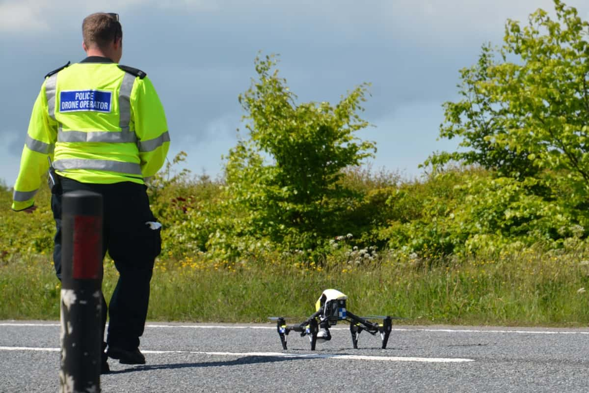 First Responder Police Drone