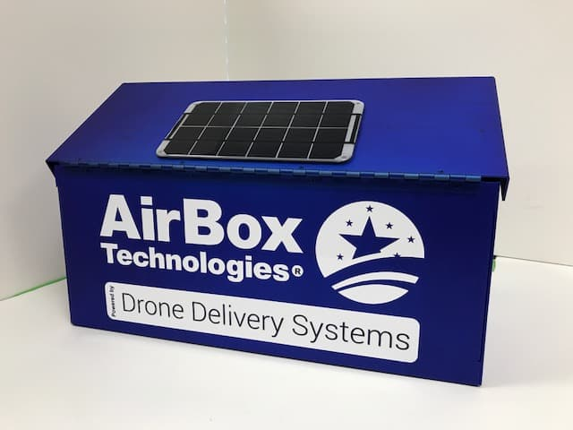AirBox Home Drone Delivery Mailbox