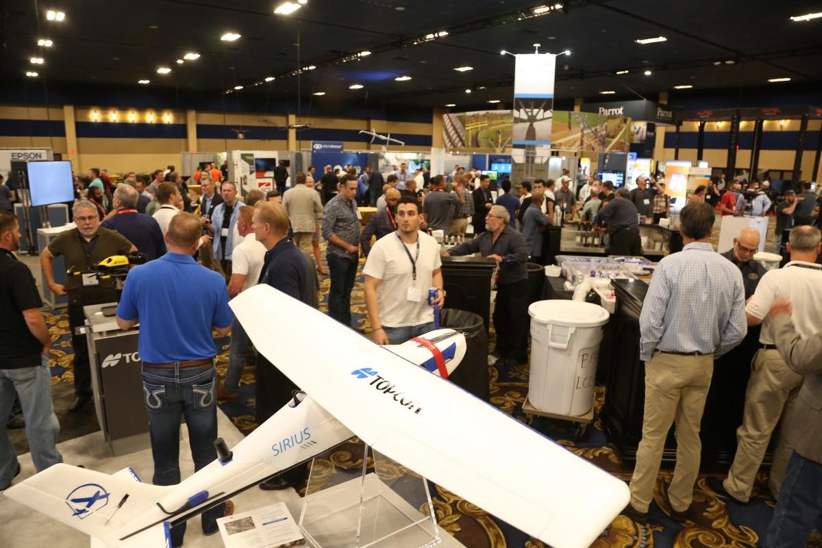 Comm UAV Expo Exhibit Hall