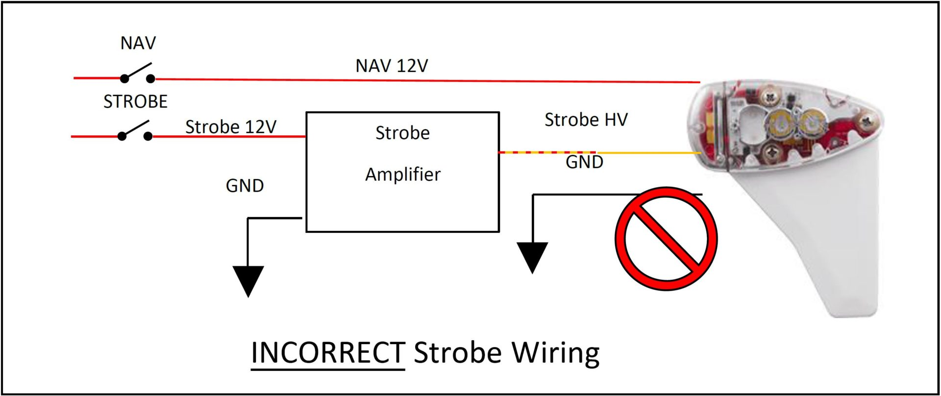 hight resolution of strobe wiring diagrams