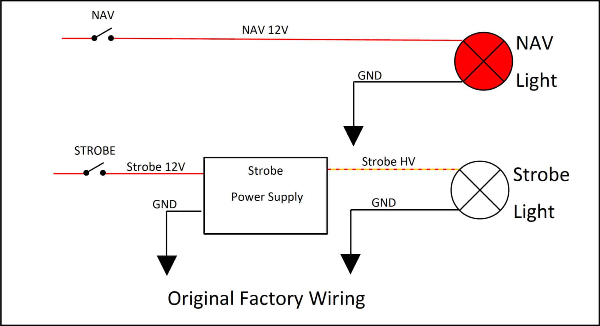 hight resolution of strobe wiring diagram u2013 uavionixstrobe wiring diagram 1