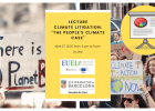 "Lecture: Climate litigation:  ""The People's Climate Case"""