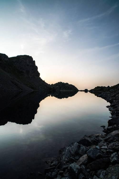 Lumière Du Matin Sur Le Lac Du Crozet