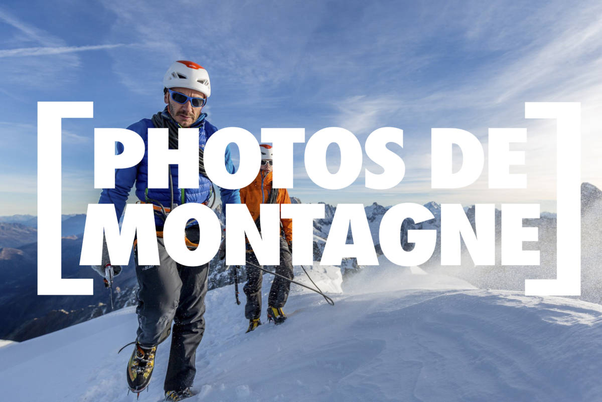 Photos de montagne – shooting Petzl