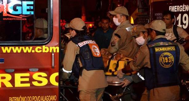 AL: explosão em prédio da polícia mata 1 e fere outros 4 em Maceió