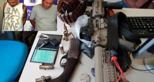 Feira: Polícia apreende modelos de fuzis usados pelas tropas dos EUA e Rússia