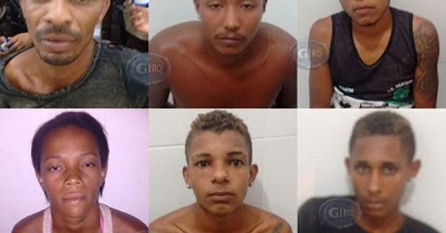 Quadrilha acusada de assaltos em Ipiaú e Barra do Rocha é presa