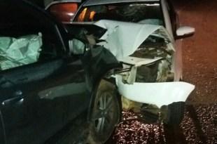 Segundo informações o motorista do carro prata identificado como Sampaio, perdeu o