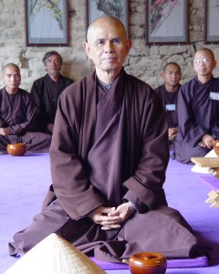 Thich Nhat Hanh Sitting