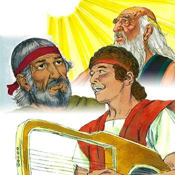 God chose Abraham, Moses and David