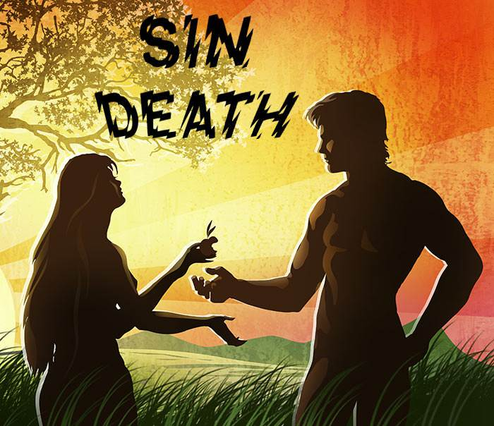 This terrible rebellion and disobedience on the part of the first man brought sin and death into God's beautiful world.