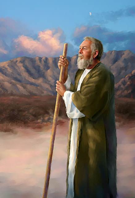 Moses was a special friend of God.