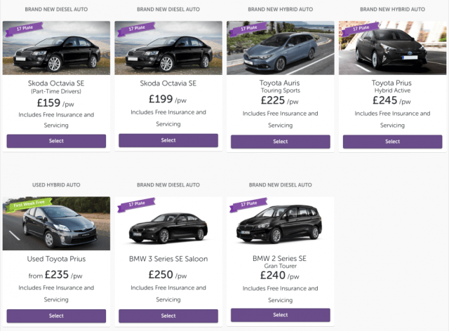 Uber X PCO Car Hire