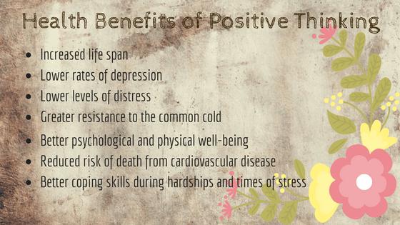 Top ten benefits positive thinking