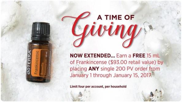 Promo Essential Oils doTERRA