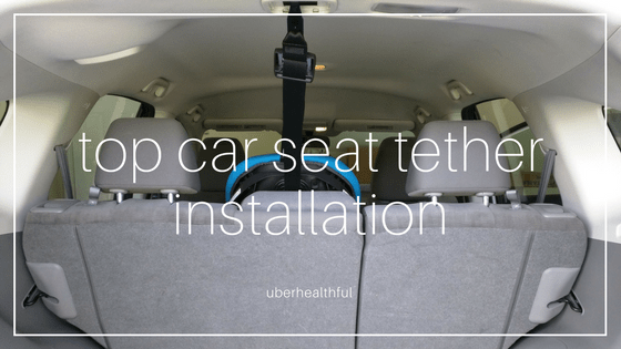 install top tether for car seat in honda crv