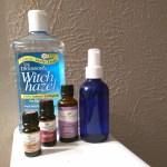 How to Make Natural Sleep Pillow Spray