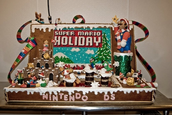10 Awesome Gingerbread House Creations  Funny Pictures