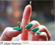 nail art of hand