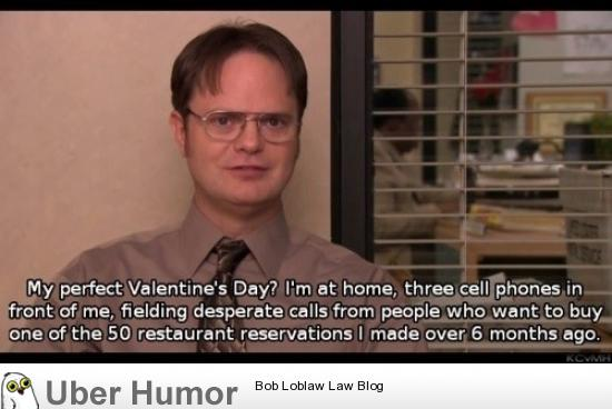 Dwight's Perfect Valentines Day  Funny Pictures, Quotes