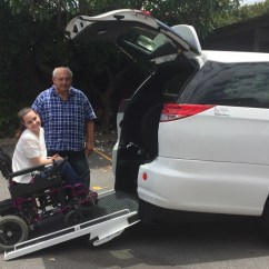 Wheelchair Uber Seat Covers For Chairs Bringing New Transport Choices To Newcastle