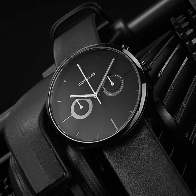 Vision Shine Carbon Watch