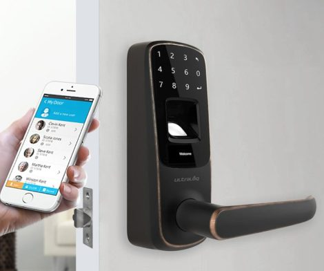 Ultraloq UL3 BT Fingerprint & Touchscreen Smart Lock
