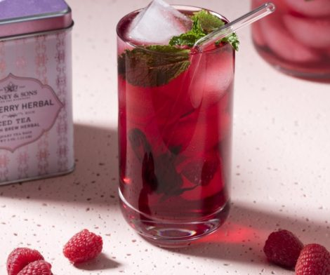 Raspberry Herbal Fresh Brew Iced Tea
