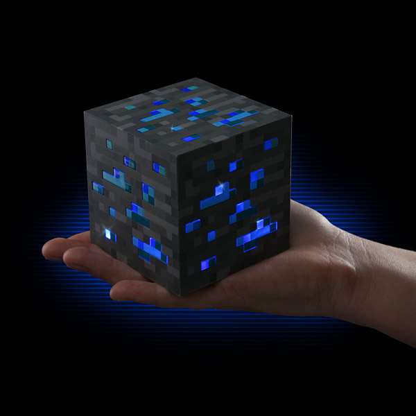 Minecraft Light-Up Diamond Ore Minecraft Light