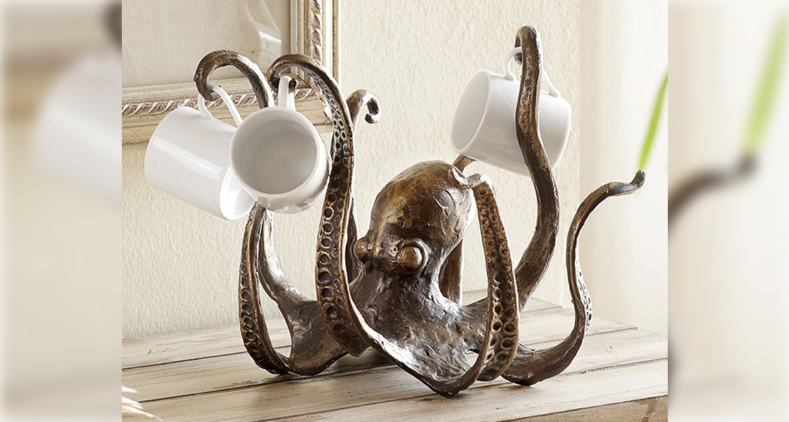 Cast Iron Octopus Table Topper