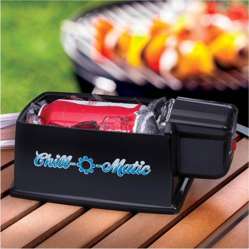 Chill-O-Matic Spinning Drink Cooler