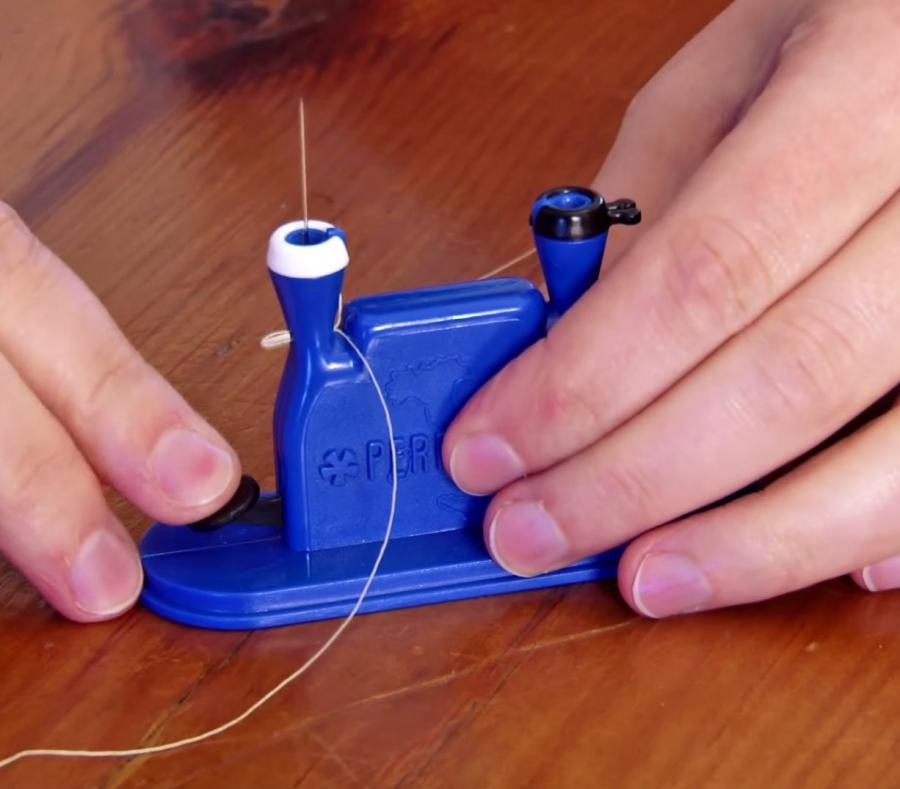 Clover Desk Needle Threader Automatically Threads Your Sewing Needle