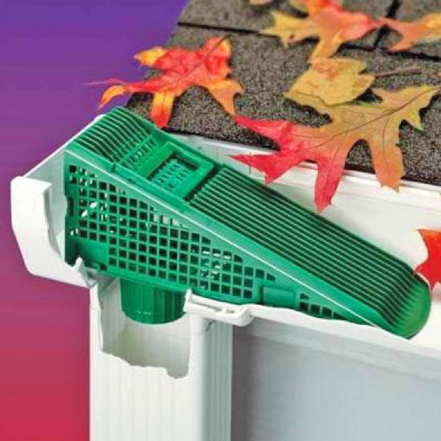 Gutter Downspout Leaf Filters (4-Pack)
