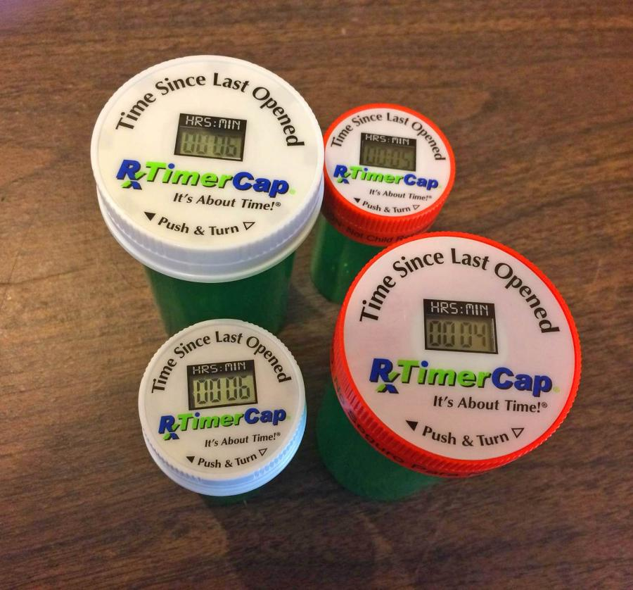 Pill Bottle Timer Cap: Resets When You Take Your Medication