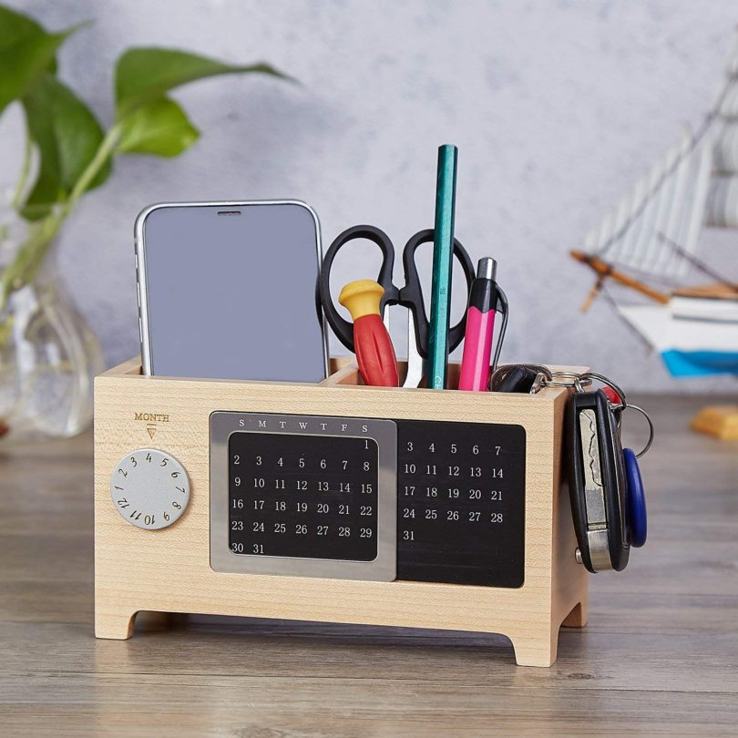 Desktop Calendar Storage Box