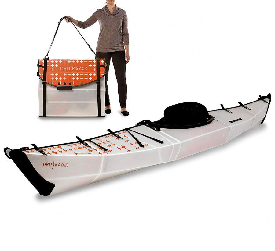 Oru Kayak: Collapsible Kayak That Folds Up Into a Suitcase