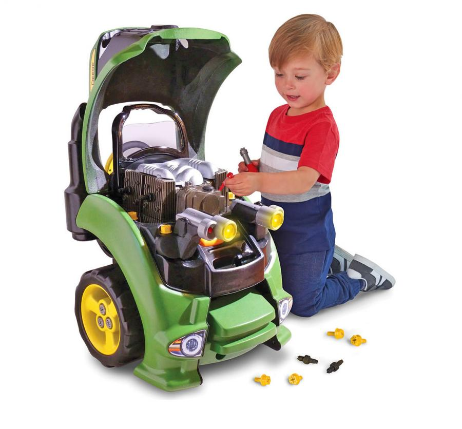 Tractor Engine Repair Set Lets Your Kid Work On Their Own Tractor