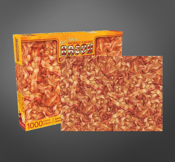 1,000 Piece Bacon Jigsaw Puzzle