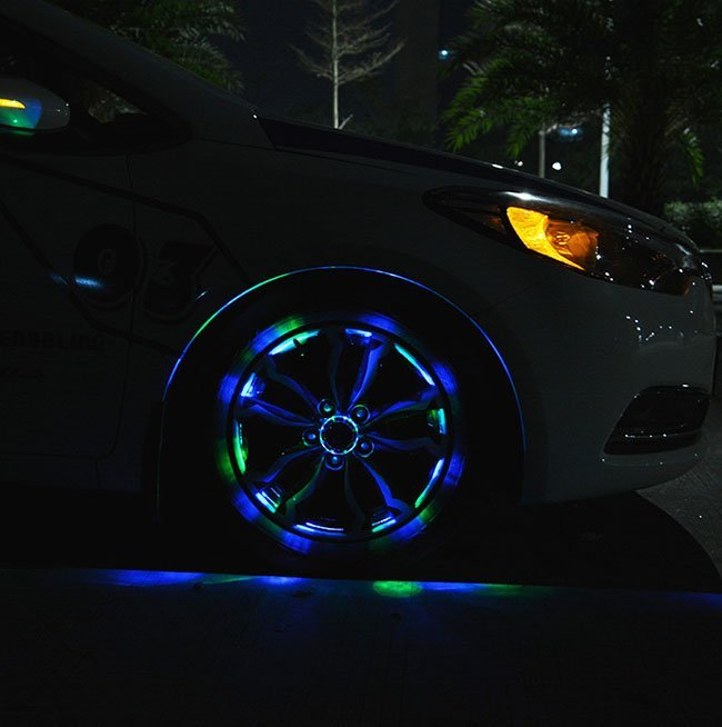 LED Car Wheel Lights