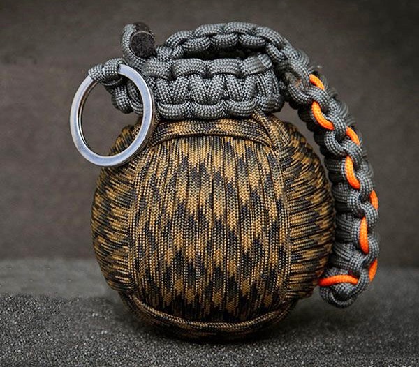 This Paracord Survival Grenade Is Filled With Survival Tools