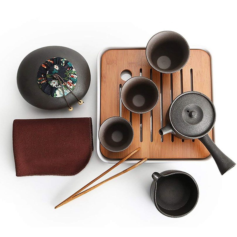 Ecomojiware Chinese Kungfu Tea Set Portable